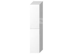 Cubito skříňka vysoká 2 dveře, 5 polic, bílá