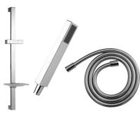 Cubito sprchový set I - sprcha Cubito I s 1 funkcí, tyč, hadice 170cm, H3604210040401, Jika