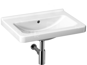 Cubito umyvadlo 65 x 48,5 cm bez otvoru, bílé
