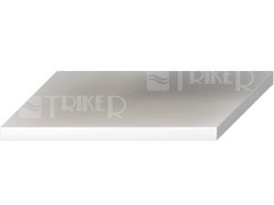 Cubito umyvadlová deska bez otvoru řezatelná 65  -128 cm, bílá
