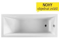 Cubito vana akrylátová 160 x 70 cm bílá, H2204200000001, Jika