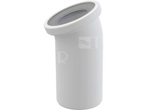 Dopojení k WC - koleno 22° Alcaplast A90-22 110mm bílé