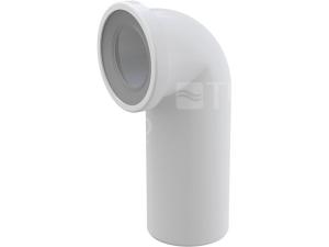 Dopojení k WC - koleno 90° Alcaplast A90-90 110mm bílé