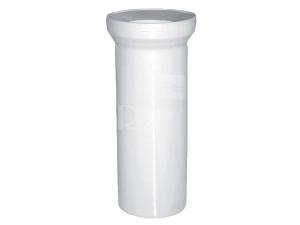 Dopojení WC - přímý kus 110/250mm, bílé