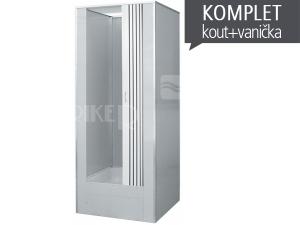 Dora průmyslový box 80 x 80 cm s dveřmi