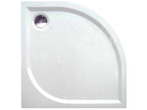 Dream-M vanička z litého mramoru 90 x 90 x 3 cm R550, bílá (vč.nohou)