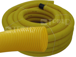 Drenážní trubka flexi neděrovaná  65 mm (metráž)