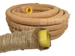 Drenážní trubka Kokofil s opláštěním kokosovými vlákny