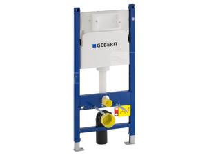 Duofix Basic pro závěsné WC s nádrží Delta, přední ovládání