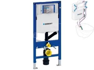 Duofix pro závěsné WC 112 cm s nádrží Sigma 12 cm, pro odsávání zápachu přes tlačítko
