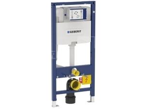 Duofix pro závěsné WC 112cm s nádrží Omega, přední ovládání