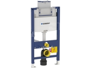 Duofix pro závěsné WC 98cm s nádrží Omega, horní/přední ovládání
