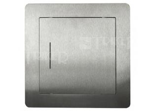 Dvířka revizní exkluziv Haco 20 x 20 cm, nerezová