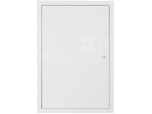 Dvířka revizní Haco kovová 50 x 50 cm bílá