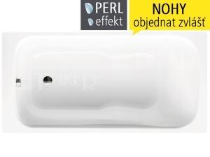 Dyna Set vana ocelová 3,5 mm 170 x 75 x 43 cm 620, bílá + Perl-Effekt