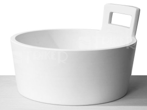 Džber umyvadlová mísa 46 cm bílá