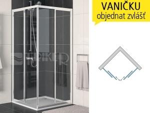 ECOAC Sprchový kout