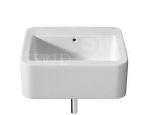 Element umyvadlo 60 x 50,5 cm bez otvoru, bílé