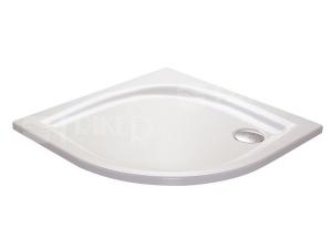 Elipso LA vanička akrylátová  90 x 90 x 7cm R500, bílá