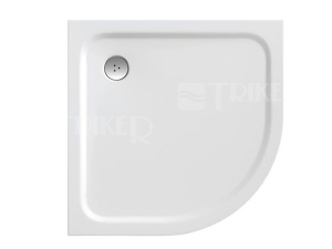 Elipso Pro Chrome vanička z litého mramoru