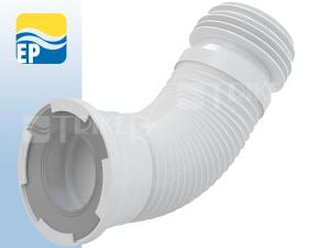 EP Flexi odpad k WC 110 mm flexibilní 280-550 mm