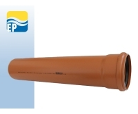 EP KGEM kanalizační trubka SN8 160 x 4,7 x 1000 mm, SP342100W, EP