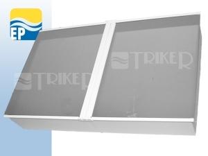 EP Skříňka toaletní TSZ-2 54,5 x 34,1cm bílá