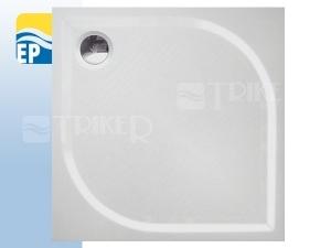 EP Vanička z litého mramoru čtvercová 80 x 80 x 3cm bílá