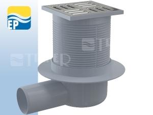 EP Vpusť podlahová APV1 boční odpad 50 mm, nerezová mřížka