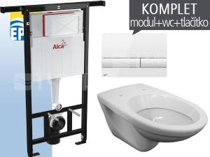 EP závěsný WC komplet 1710 do bytových jader