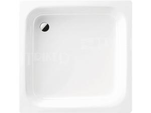 Eurowa vanička ocelová 90 x 90 x 14 cm 296, bílá