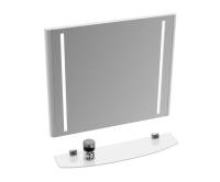 Evolution zrcadlo 70 x 66 cm s LED osvětlením bílé, X000000398, Ravak