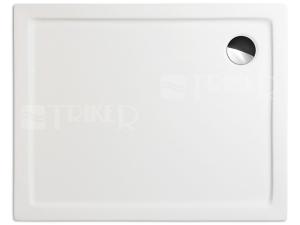 Flat Kvadro vanička akrylátová 140 x 80 x 5 cm, bílá