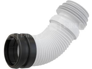 Flexi odpad k WC modulům 90 flexibilní 230-450 mm