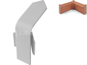 FOR-TOP vnitřní roh pro krycí lištu bílý