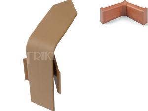 FOR-TOP vnitřní roh pro krycí lištu buk