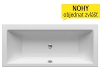 Formy 01 vana akrylátová 170 x 75 cm bílá, C691000000, Ravak