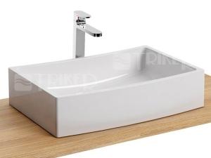 Formy 02 umyvadlo 50 x 39 cm bez přepadu, bílé
