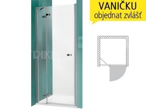 GDNL1 sprchové dveře GDNL1/1000 (980-1020mm) profil:brillant, výplň:transparent