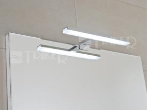 Gemma 280 LED osvětlení pro zrcadla, 1x 6W, 840 lm, 280 x 112 x 14 mm