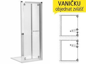 Geo-6 sprchové dveře skládací