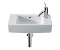 Hall umývátko 50 x 25 cm bez otvoru, bílé, A325883000, Roca