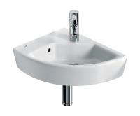 Hall umývátko rohové 35 x 43 cm levé, bílé, A327623000, Roca