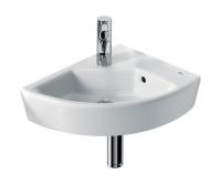 Hall umývátko rohové 35 x 43 cm pravé, bílé, A327622000, Roca