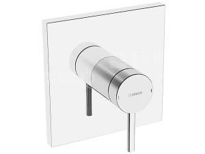 Hansa Designo sprchová baterie podomítková hranatá, vrchní sada