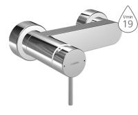 Hansa Stela sprchová baterie chrom, bez příslušenství, 57670101, Hansa