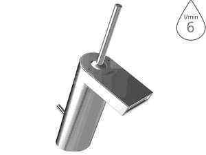 Hansa Stela umyvadlová/bidetová baterie chrom, s výpustí