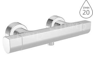 Hansa tempra Style sprchová termostatická baterie, chrom