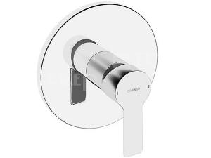 HANSALIGNA sprchová baterie podomítková kulatá, vrchní sada
