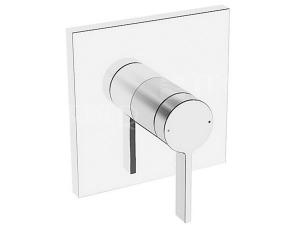 HANSALOFT sprchová baterie podomítková hranatá, vrchní sada